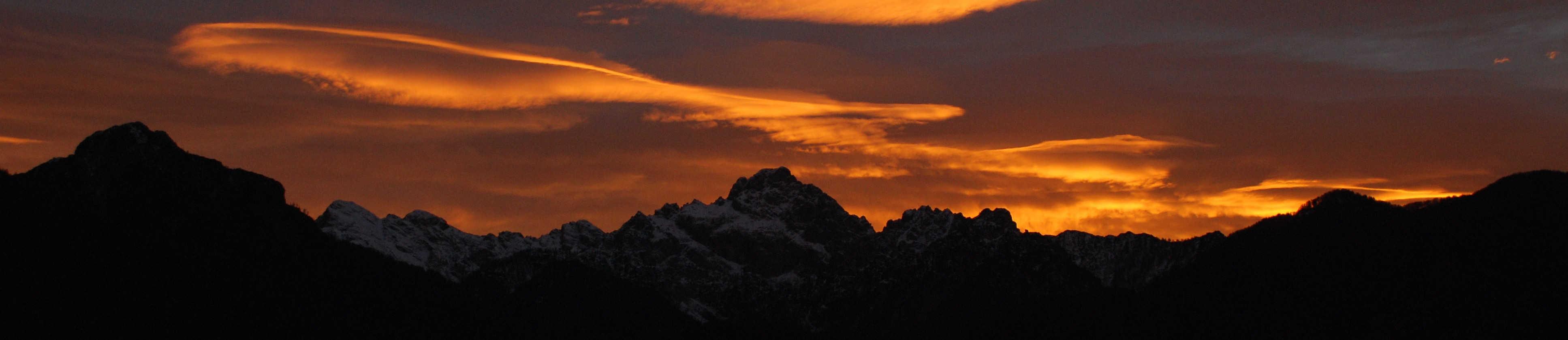 Chiarescon al tramonto